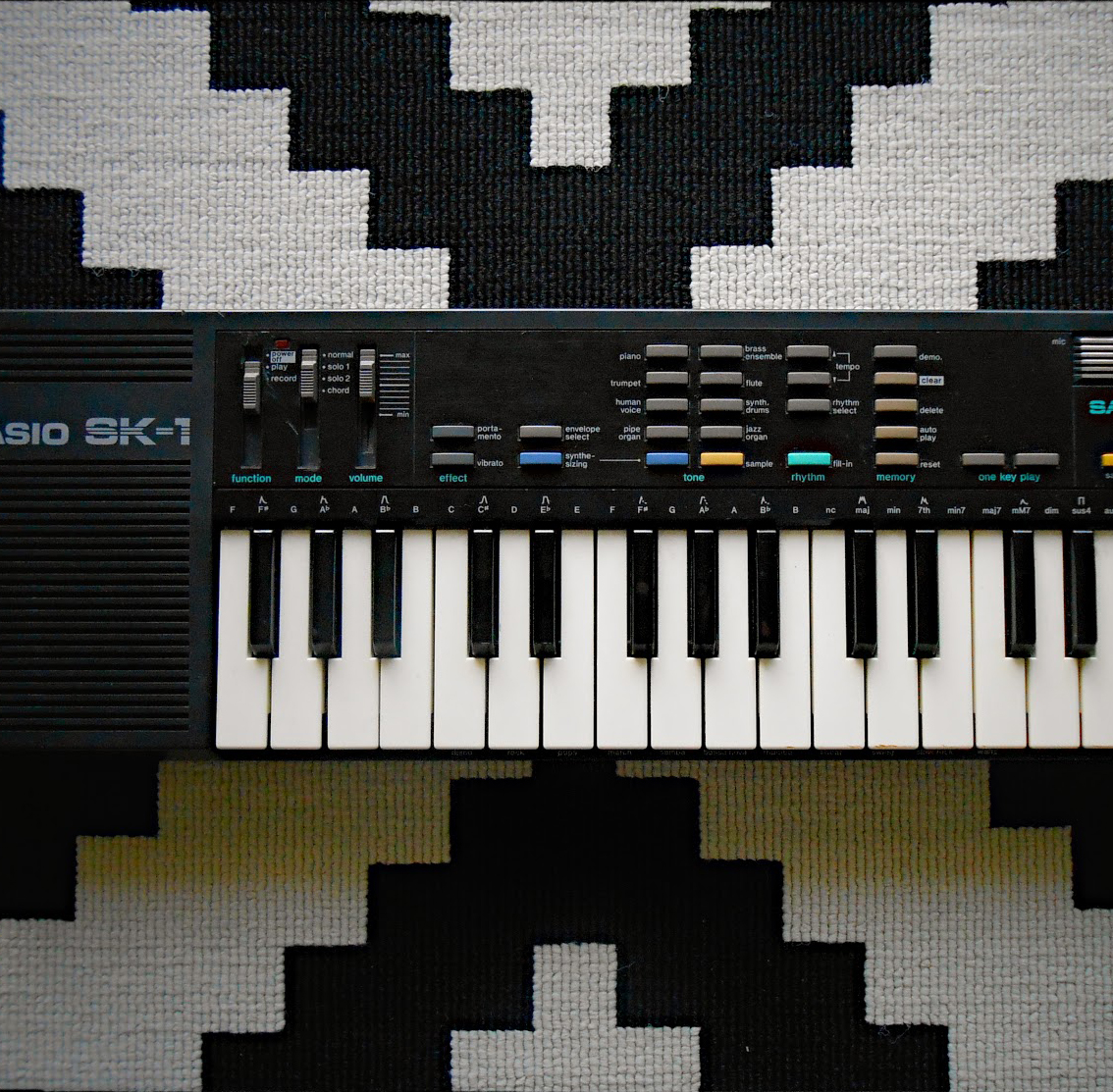 Casio SK-1 Sampling Keyboard square